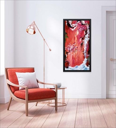 Trilogy of Wonder III by Danielle O'Connor Akiyama - Limited Edition Glazed Box Canvas wall setting