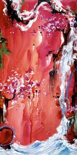 Trilogy of Wonder III by Danielle O'Connor Akiyama - Limited Edition Glazed Box Canvas